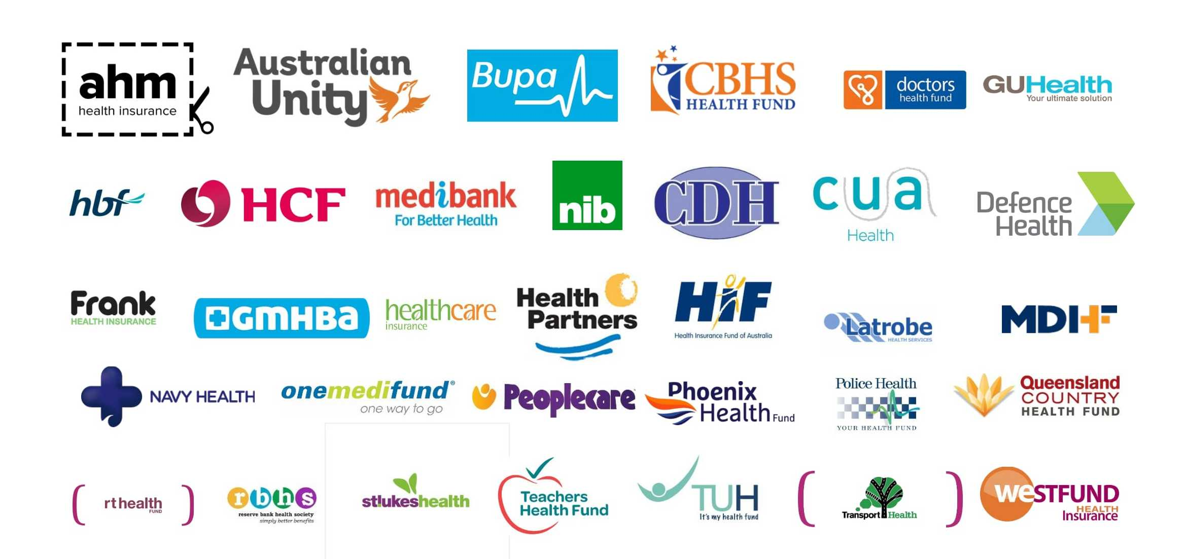 Claim instantly with these registered private Health Funds